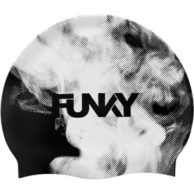 Funky Trunks Silicone Swimming Cap Men, steamed up